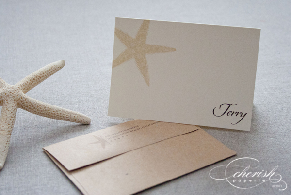 Invitations, custom notecards, thank you card