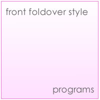 front foldover style