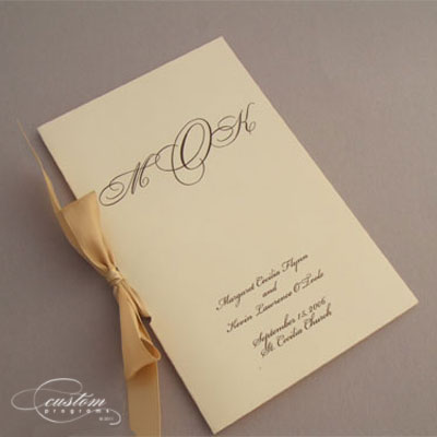 Wedding Mass Booklets - a Guide to Making your own!