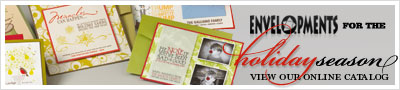 holiday cards, christmas cards, Envelopments holiday
