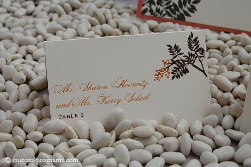 escort card, name card, place cards, ashwood berries