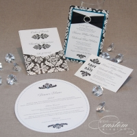 Black Damask Bling CollectionPicture