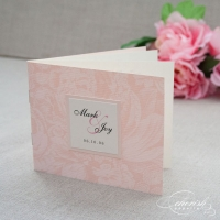 Soft Pink Roses Mini BookletPicture